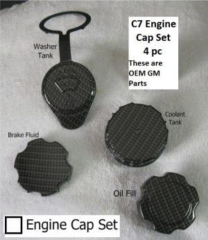 C7 Engine Cap Set