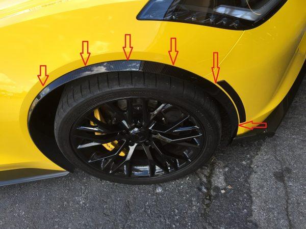 Fender Extensions - Wheel Spats - Moldings