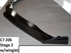 Front Splitter-Stage 2 & 3